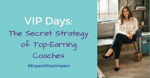 VIP Days: The Secret Strategy of Top-Earning Entrepreneurs