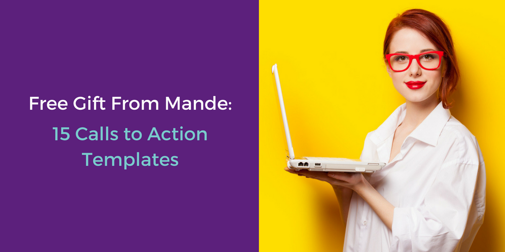 Free Gift From Mande: 15 Call-to-Action Templates