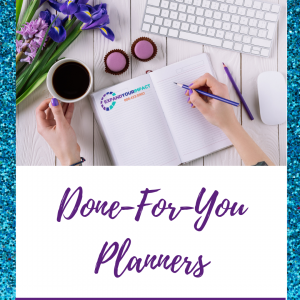 Done-For-You Planners